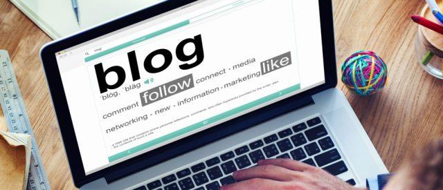 Blogging computer