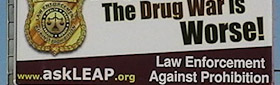 Drug War Billboard