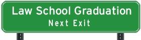 Law School Sign