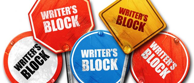 street signs all point to writer's block