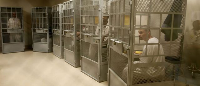 psychiatric prisoners in cages - we are not nice people