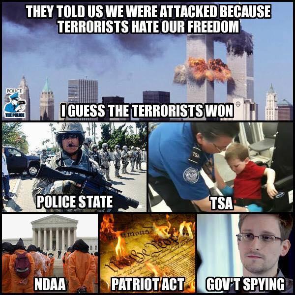 Terrorists Won