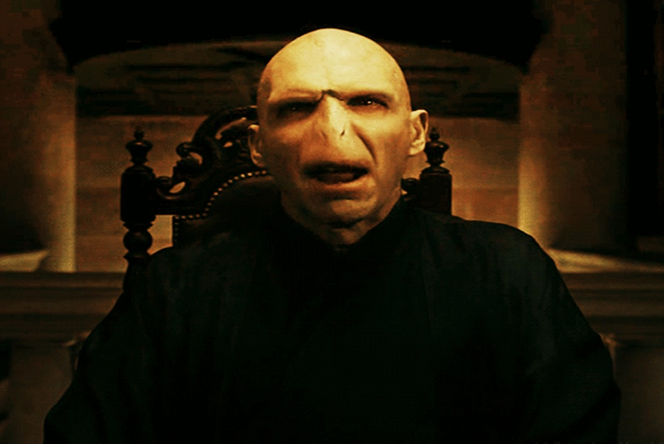 Voldemort signifies Kirby Delauter saying HIS name must not be spoken