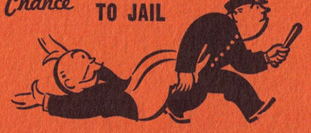 Do Directly to Jail under the rule of man