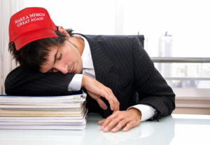 Merkin-Hatted Exhausted Lawyer