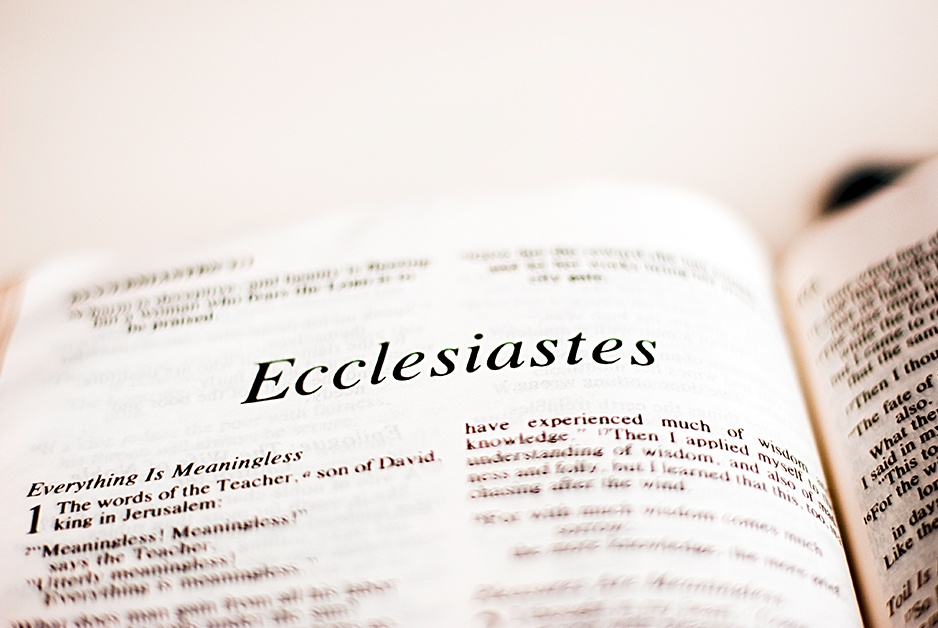 Ecclesiastes encourages Meet the New Boss (but he's not really new)