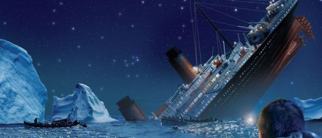 iceberg sinking ship signifies legal dangers new technology brings