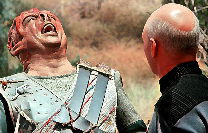 Star Trek Episode: Shaka, When the Walls Fell, signifying Failure, A Nation Imploding
